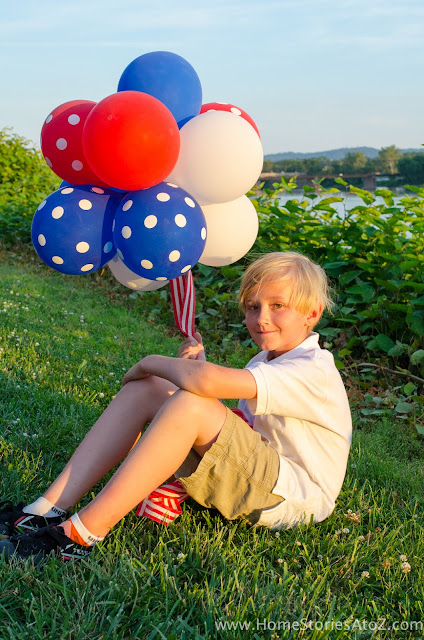 4th Of July Top 5 Projects - Balloon Topiary Ball - MLI
