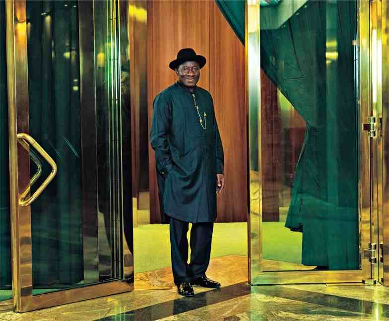 president jonathan 55th birthday