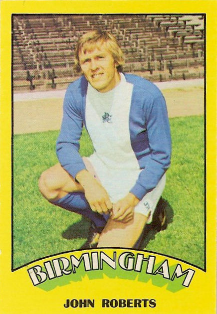 Coventry Footballers # 58 Brian Alderson 1974 Red Back A/&BC