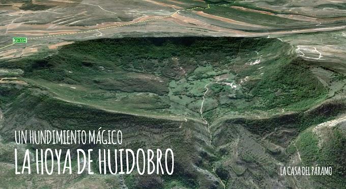 La hoya de Huidobro, un hundimiento mágico