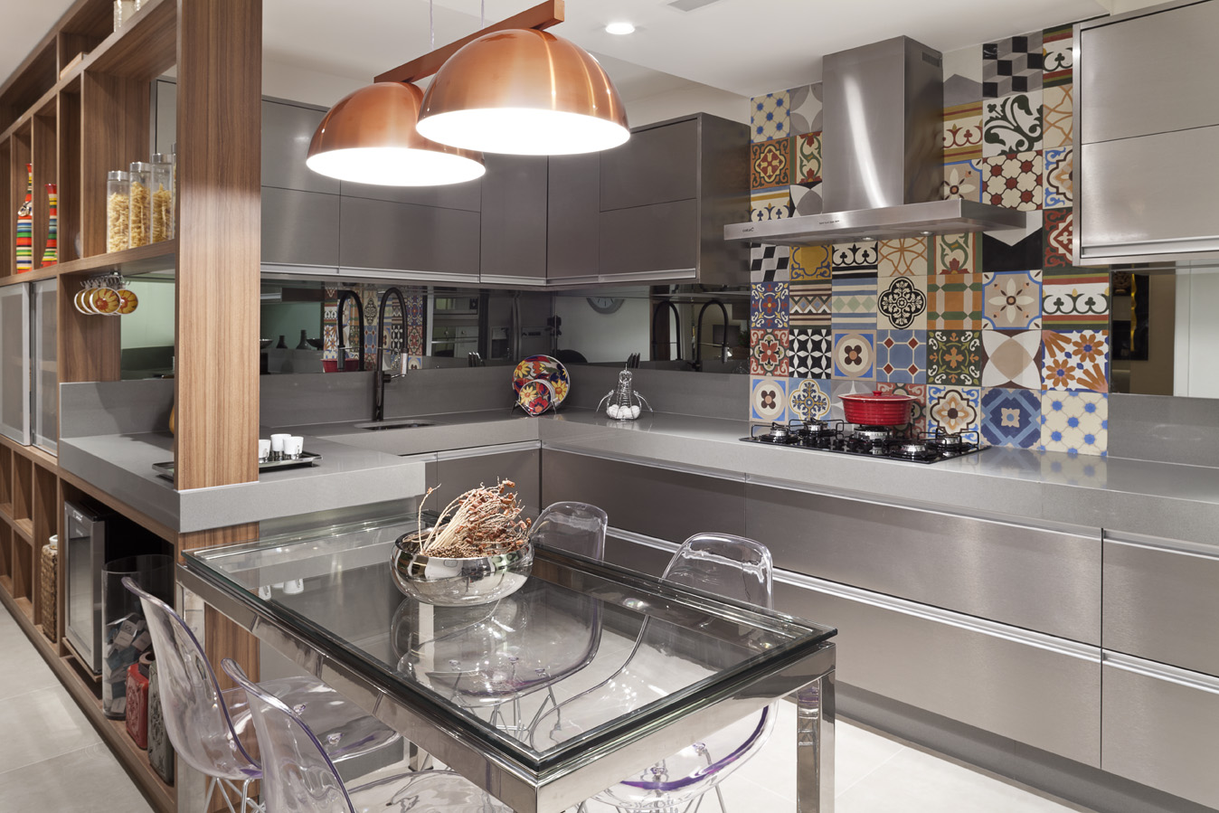 Jeito De Casa Blog De Decora O Mar O 2016 ~ Cozinha Cinza Com Vermelho