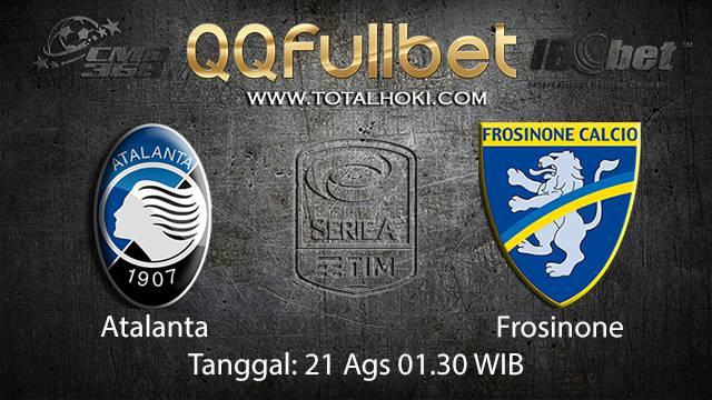 Prediksi Bola Jitu Atalanta vs Frosinone ( Italian Serie A )