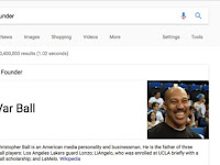 According to Google, LaVar Ball Founded the NBA