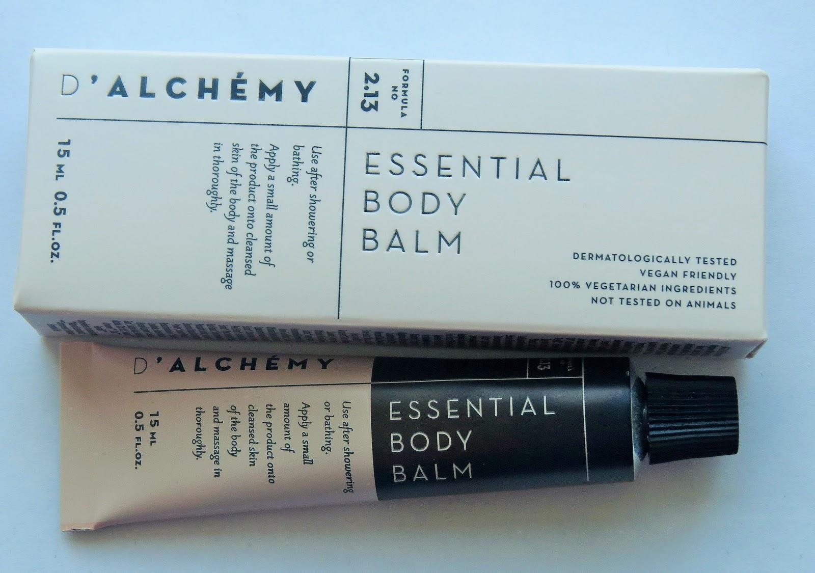 Beauty Balm: D\'ALCHÉMY Essential Body Balm Mini