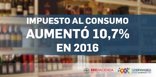 Impuesto al Consumo aumentó recaudo en 2016
