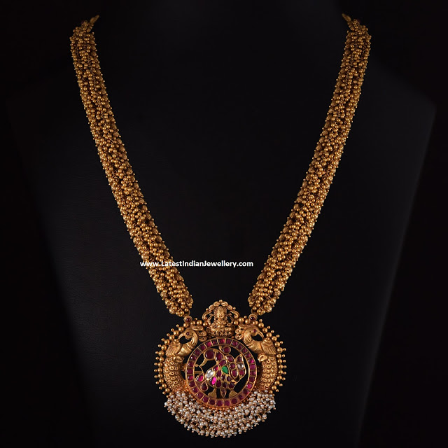 Antique Gold Gajjala Mala