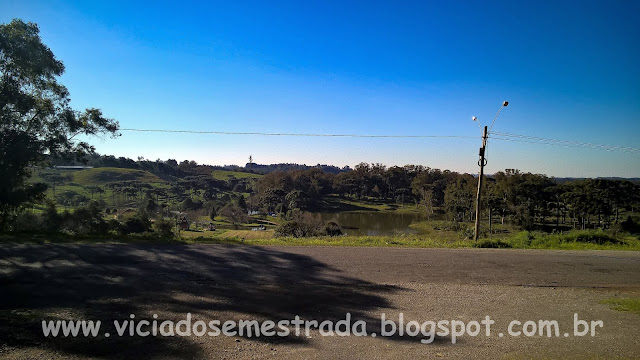 Paisagem rural em Desvio Blauth, interior de Farroupilha, RS