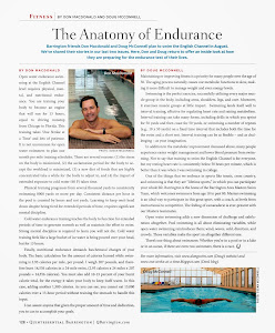 The Anatomy of Endurance