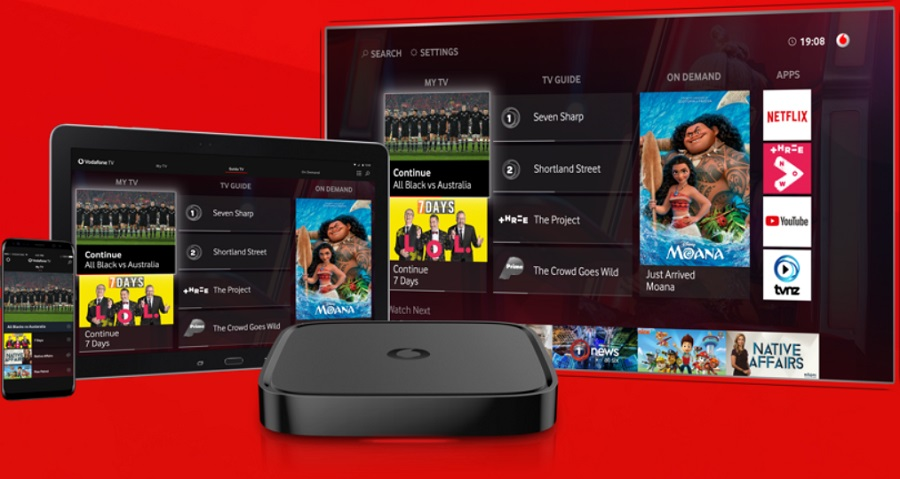 Vodafone apuesta por tener toda la televisión