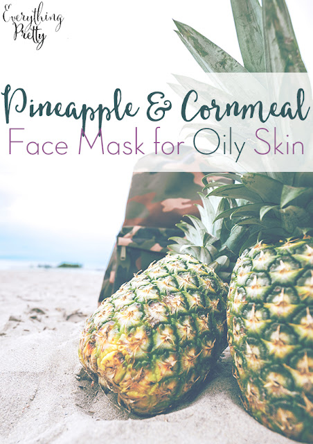 This easy face mask for oily skin uses common ingredients to exfoliate and remove excess oil.