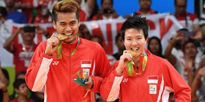 Peraih Emas di Olimpiade Rio Mendapat Bonus 5M !