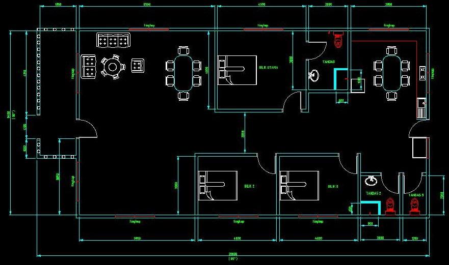 Desain Rumah Minimalis Ukuran Lebar 5 Meter