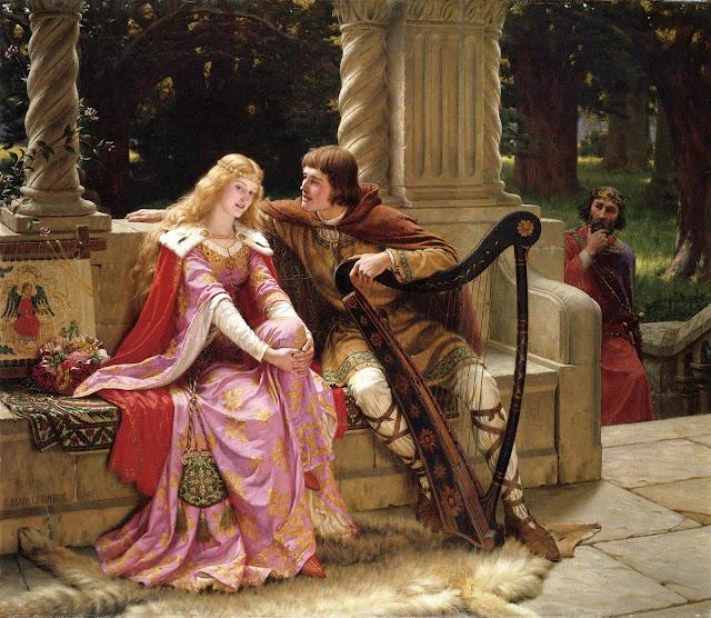 amour coutois féminisme Thibault Isabel