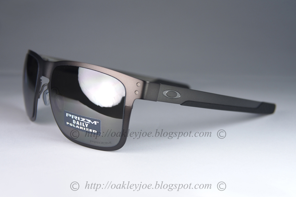 294a7c91752 OO4123-0655 Holbrook Metal matte gunmetal + prizm black iridium polarized   315 xmas sale  285!!! lens pre coated with Oakley hydrophobic nano solution