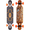 Loaded Tan Tien Flex 2 Complete Longboard Skateboard W/ Paris Trucks, Orangatang Wheels, Sticker Pack