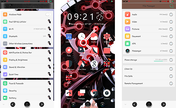 Oppo Theme: Oppo Date a Live Theme