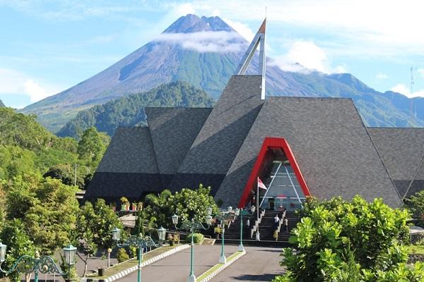 Lokasi dan Fasilitas Museum Gunung Merapi, Napak Tilas Aktifitas Gunung Merapi