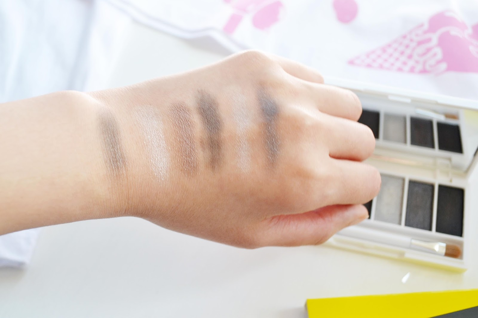 Smokey Eyeshadow Swatches