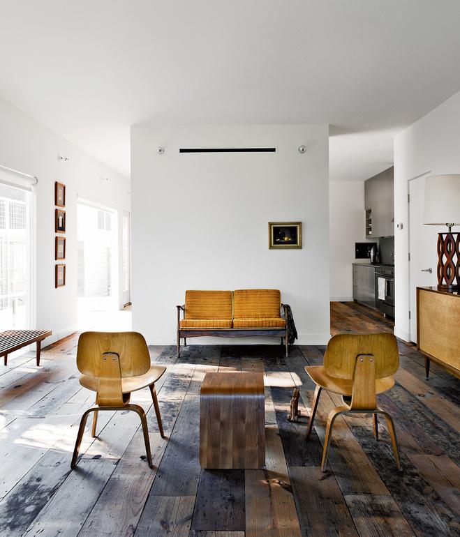 Scandinavian Retreat.: Row Houses In Houston