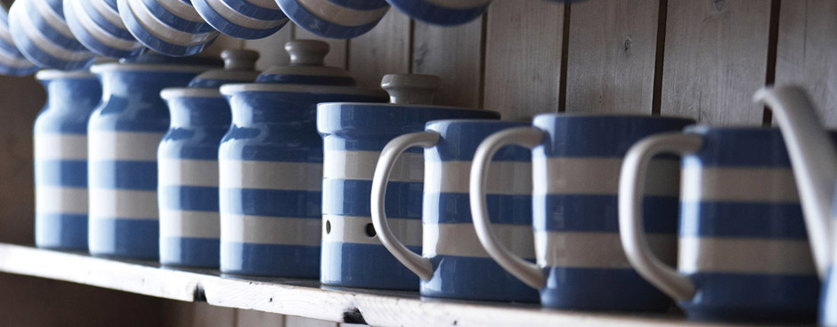 Cornishware Dreadnought Jugs