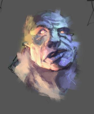 sketchbook, ogre, douglas deri, art, tutorial,paint, brushes, photoshop brushes, photoshop, how to draw, how to paint, como desenhar monstros, conceptart, character design