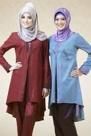 Model Baju Muslim Lebaran Idul Fitri Terbaru