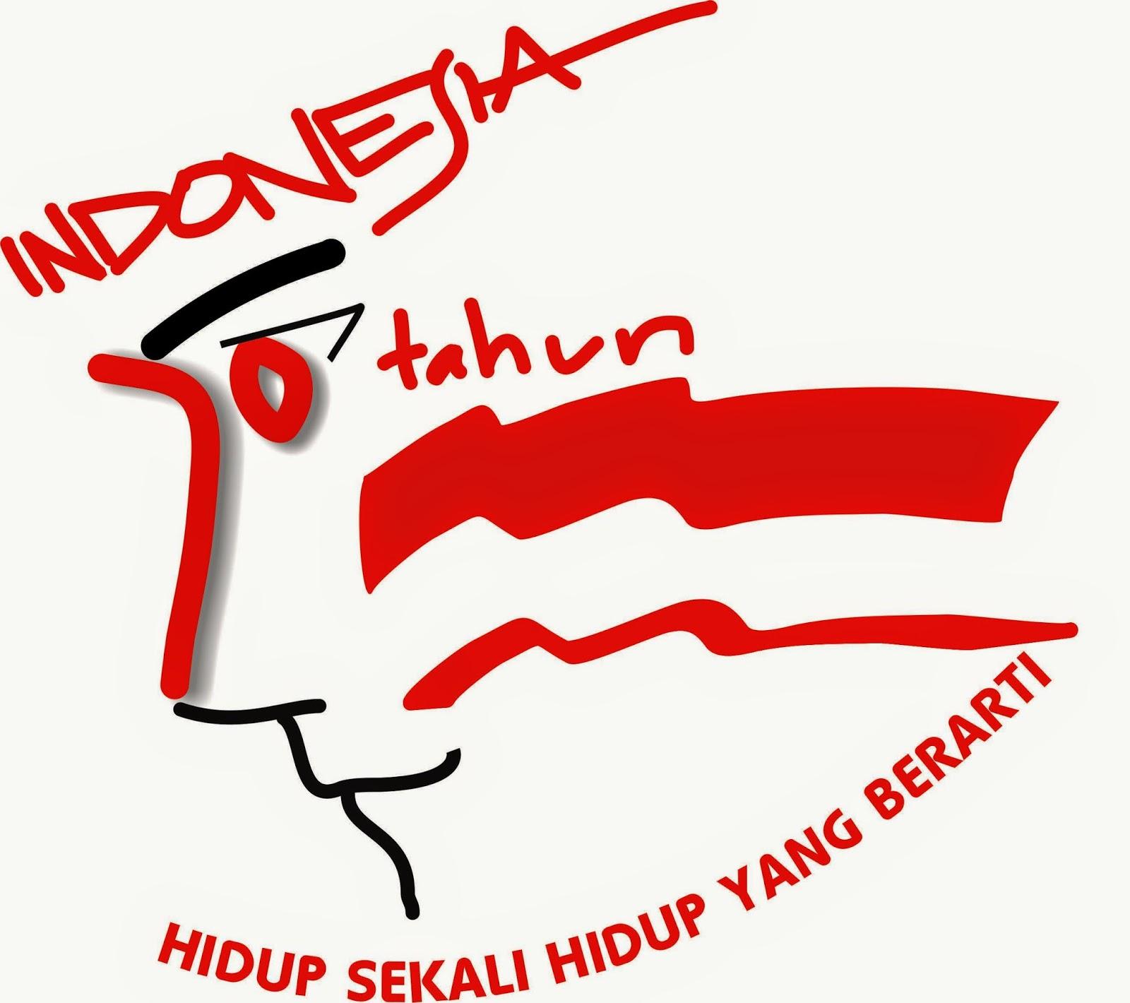 Karya Logo 70 Tahun Indonesia Merdeka ManNusantara Design Indonesia