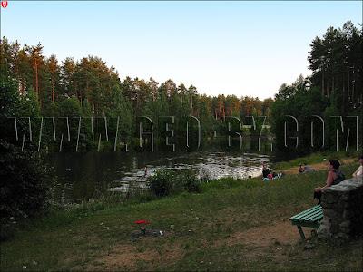 Пионерлагерь Юбилейный. Озеро