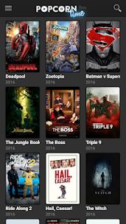 تحميل تطبيق مشاهدة الأفلام  Popcorn Time للاندرويد 2018 ، popcorn time download