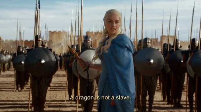 HBO Game of Thrones S03E04: Daenerys