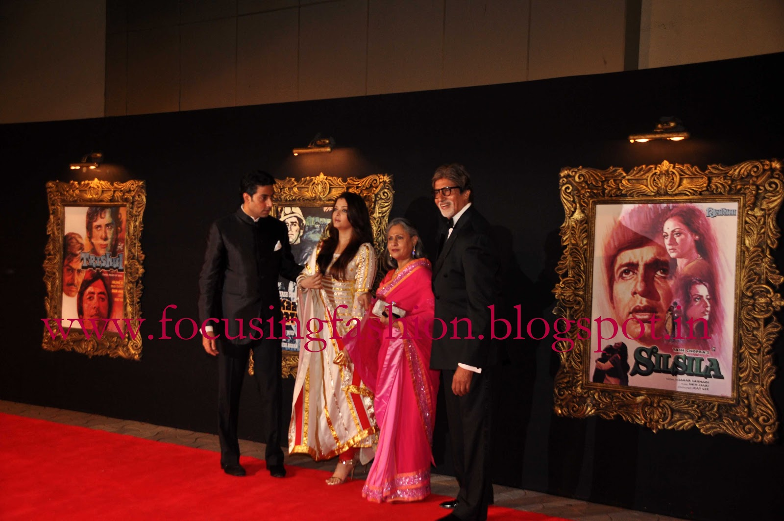 28d7a0380a3 The entire Bachchan family made an appearance at Yash Raj studios