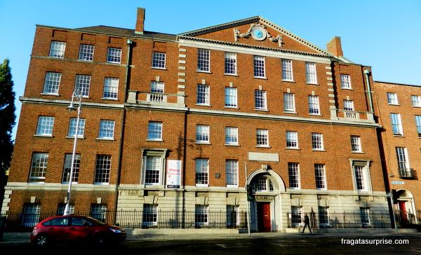 Edifício georgiano em Dublin