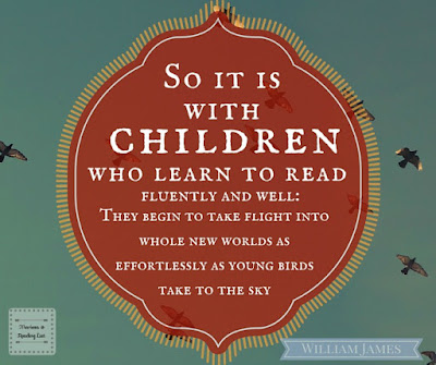 Children who read can fly   William James... quote on Reading List
