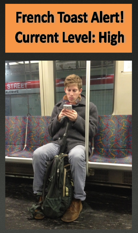 Hotties On The T!: French Toast Hottie