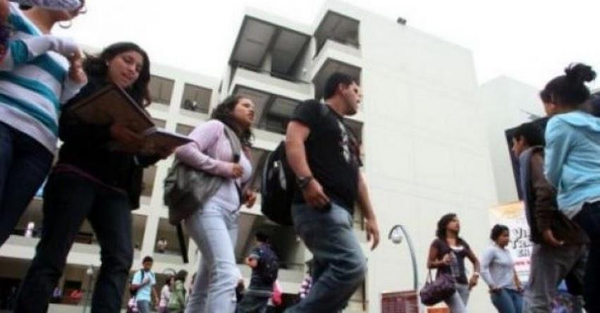 Presentan proyecto de ley para eliminar exoneraciones tributarias a 28 universidades privadas