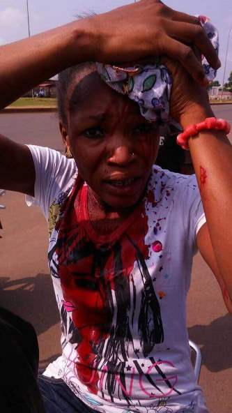 Image result for togo protests turn violent