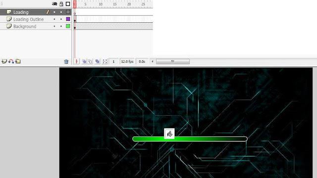 Tutorial Animasi Cara Mudah Membuat Loading dengan Macromedia Flash 8