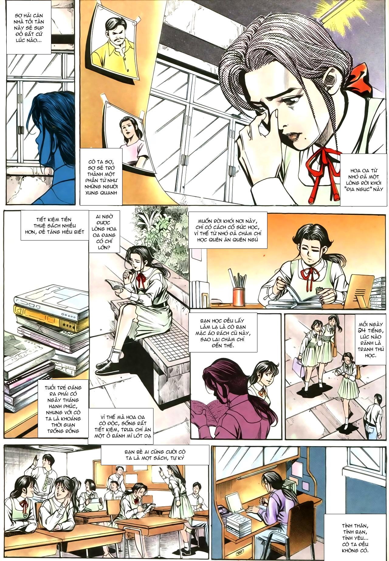 Người Trong Giang Hồ chapter 207: nhật ký đau lòng trang 28