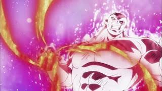 Jiren's powerful attack