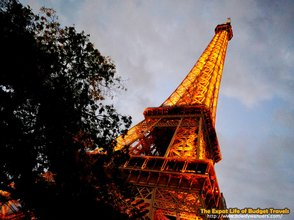 bowdywanders.com Singapore Travel Blog Philippines Photo :: France :: You Are Welcome in Paris: What About The Eiffel Tower?