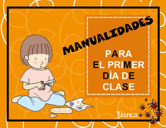 Actividades para Educación Infantil: 12 MANUALIDADES PARA EL PRIMER ...