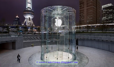 Apple Store in Shanghai , China