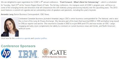 Amanda lang bio on CORE Outsourcing site