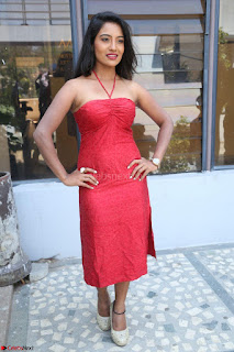 Mamatha sizzles in red Gown at Katrina Karina Madhyalo Kamal Haasan movie Launch event 098.JPG