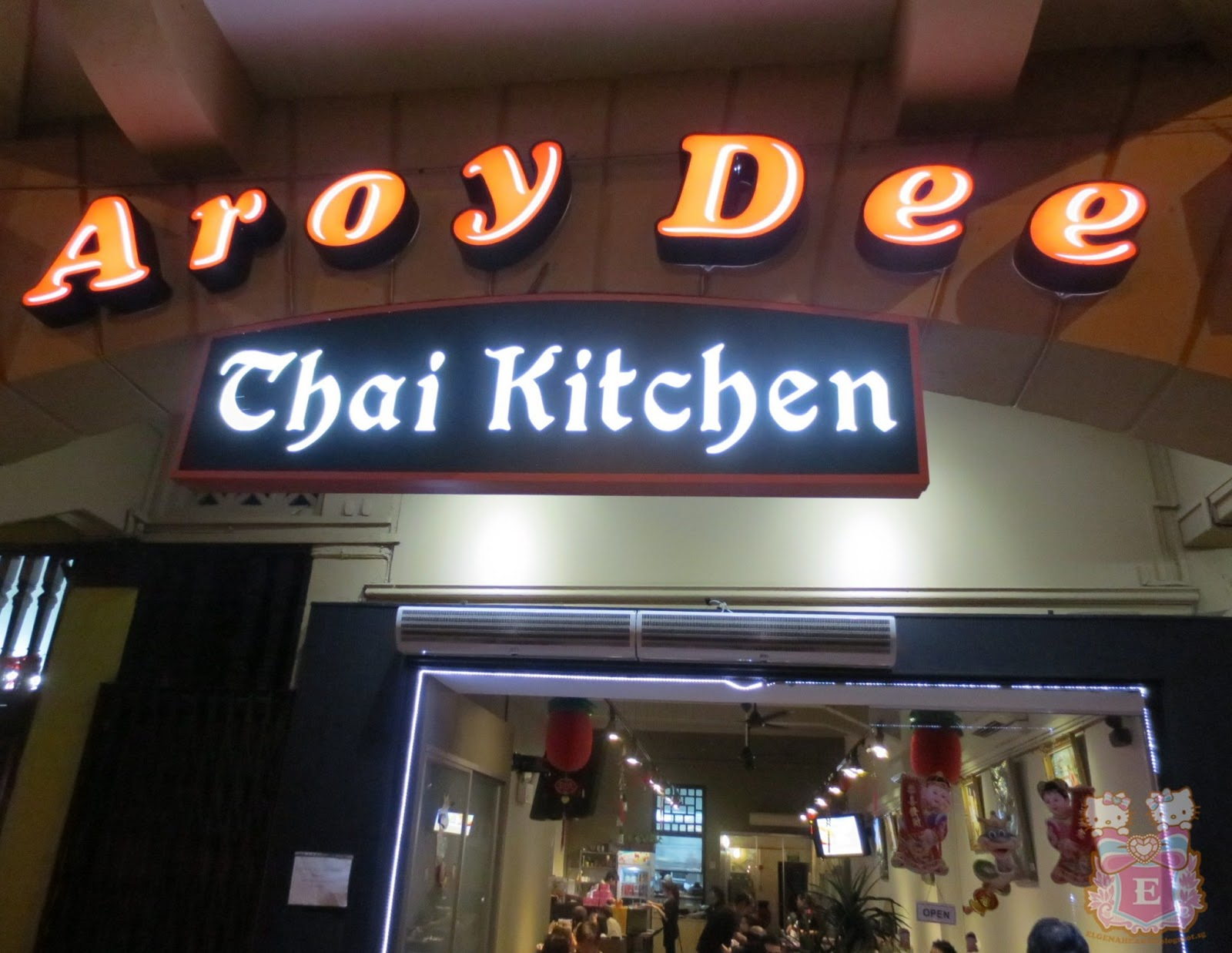 Aroy Dee Thai Kitchen Menu