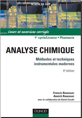 Télécharger Livre Gratuit Analyse chimique, Méthodes et techniques instrumentales modernes pdf