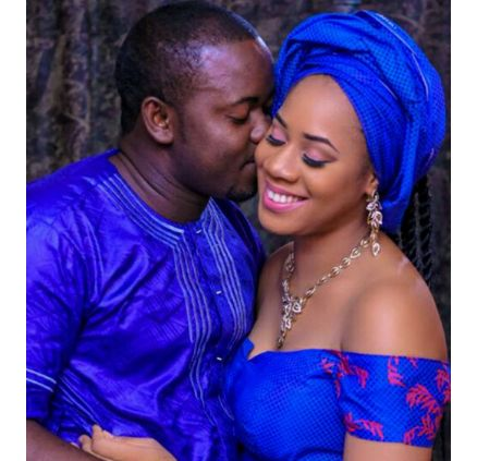 Husband of pretty lady who died after childbirth says he still speaks to her
