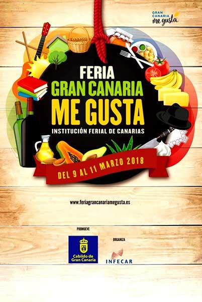 La fecha y  actos de la Feria Gran Canaria me Gusta 2018