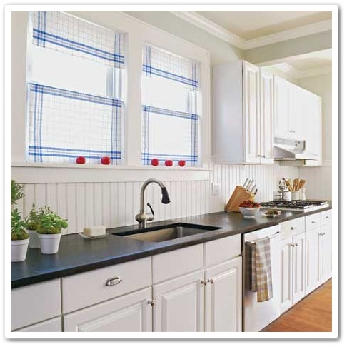 Beadboard Backsplash Ideas Kitchens