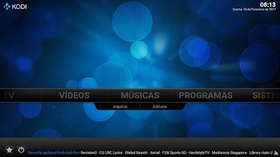 KODI IPTV PARA PC 17.0